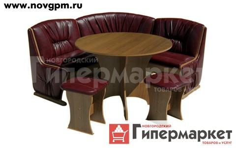 Кухонные уголки Мебель Волгодонска, угловавя скамья ТИП 2' ольха&sbquo