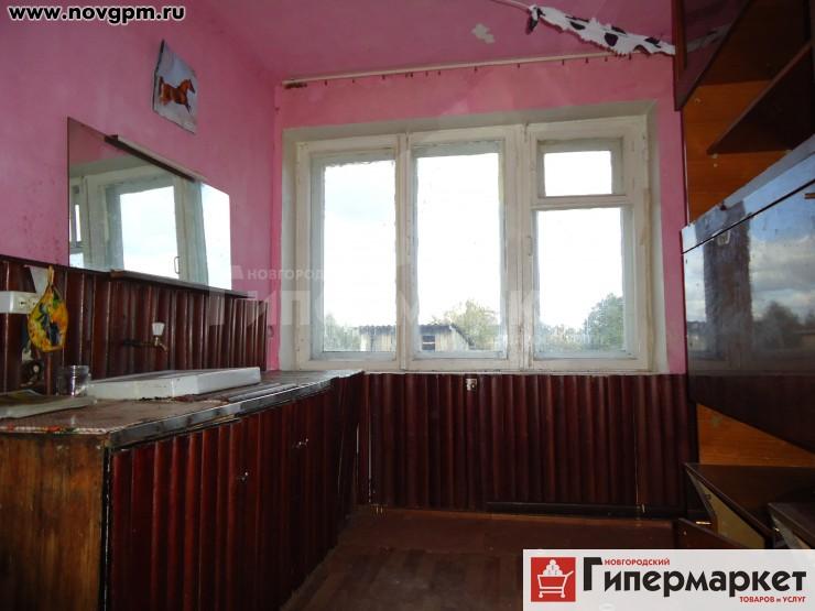 Великий Новгород, Трубичино, 188: 2-комнатную квартиру, 45.1/24.4/8.4 м, 1/2 кирпичный, туалет в доме, 400'000 руб., торг, продам