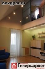 Александра Корсунова проспект, 40 к.7: 2-комнатную квартиру, 2-уровневая, 64.4/36.5/7.9 м, 6/6 кирпичный, потолки 6.2 м, комнаты 21.3+15.2 м, отличное состояние, собственник, 3'000'000 руб., продам