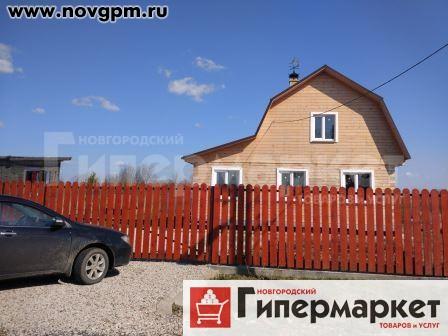 Новгородский район, Новониколаевское  дом, 2-этажный, 9x7 м, бревенчатый,  ... 8bc701b9183