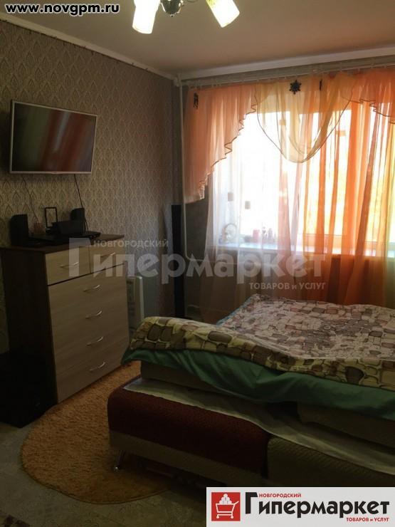 Великий Новгород, Московская улица, 26 к.1: комнату в общежитии, 20 м, 4/5 кирпичный, в 4-комнатной секции, 600'000 руб., продам