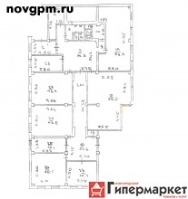 Державина улица, 15: офисное помещение 562 м, собственник, 195'000 руб./в месяц+счетчики, сдам, без комиссии