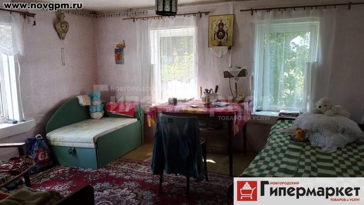 Старорусский район, Псижа, Центральная улица, 1: дом, 1-этажный, 7x10 м, деревянный, 70 м, 2 комнаты, участок 17 соток, 490'000 руб., продам