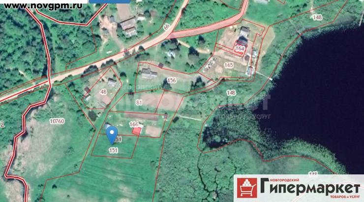 Валдайский район, Брод: участок 15 соток, земли населенных пунктов, для ведения ЛПХ, в собственности, электричество, документы готовы, 350'000 руб., продам, возможна ипотека