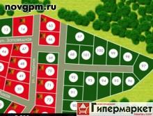 Купить участок 15 соток в Милославском