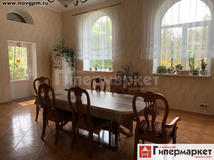 Парфинский район, Слободка: дом, кирпичный, 240 м, участок 35 соток, 20'000'000 руб., продам